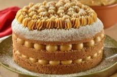 Sabor de churros! Você vai se apaixonar por este bolo de canela e doce de leite
