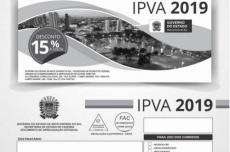Donos de veículos de MS começaram a receber os boletos do IPVA 2019
