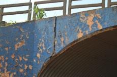 Rachaduras em túnel preocupa moradores do Parque das Nações