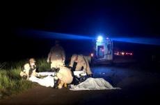Acidente em rodovia deixa passageiro de táxi morto e condutor ferido