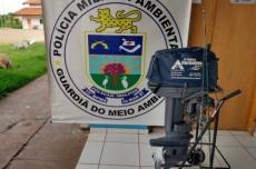 Pesca na piracema rende multa de R$ 2,5 mil para homens flagrados pela PMA