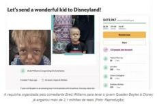 Família de menino com nanismo doa para caridade R$ 2 milhões