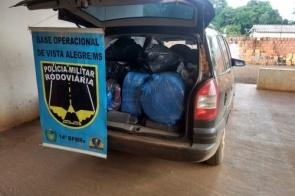 Abordagem resulta na apreensão de quase R$ 40 mil em contrabando