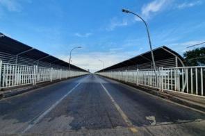 Paraguai fecha Ponte da Amizade em Foz do Iguaçu