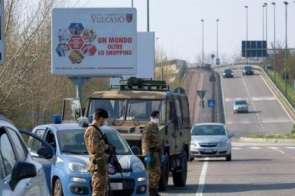 Coronavírus: Itália tem 793 mortes em 24 horas e total é de 4.825