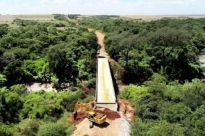 Governo entrega ponte do córrego Vacadiga e libera tráfego na MS-472