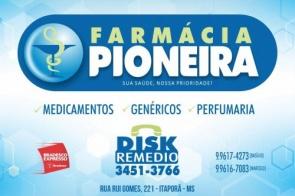 Farmácia Pioneira informa que está atendendo seguindo recomendações e ações de acordo com o Ministério da Saúde