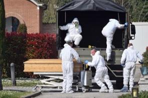 Itália volta a registrar mais de 700 mortes por Covid-19 em um dia