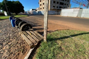 Exército do Paraguai coloca arame farpado na fronteira com o Brasil