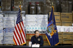 Nova York registra 100 mortes por coronavírus em 24 horas