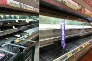 Cliente tosse de propósito em alimentos, e supermercado descarta produtos avaliados em R$ 175 mil