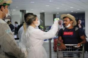 Barreira sanitária é instalada no Aeroporto de Campo Grande