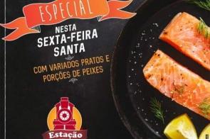 Confira o cardápio especial que a Estação Food Truck preparou para sua Sexta-feira Santa