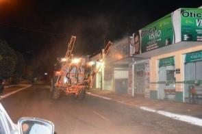 Itaquiraí será higienizada com hipoclorito de sódio para combater vírus
