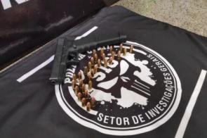 Em seis dias, polícia apreende quatro pistolas utilizadas em série de crimes