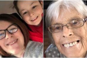 Em uma semana, menino de 7 anos perde mãe e avó para o Covid