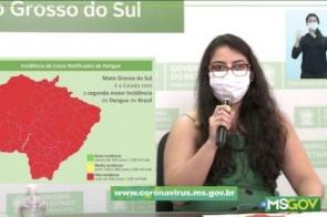 MS é o segundo estado do Brasil com maior incidência de dengue