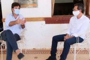 Em Campo Grande, Marquinhos Trad e Mandetta discutem ações contra coronavírus na cidade
