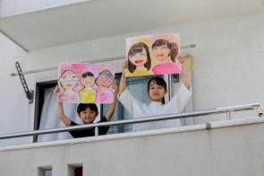 Desenhos de crianças em isolamento mostram ao mundo o que elas mais sentem falta;