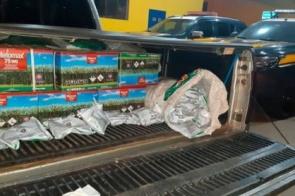 Contrabandista tenta fugir de agentes da PRF com 460kg de agrotóxico