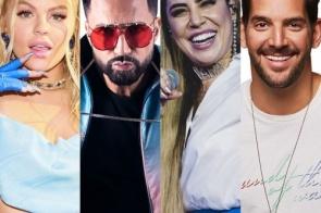 Lives de hoje: Luísa Sonza, Latino, Naiara Azevedo, Banda Eva e mais shows para ver em casa
