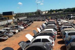 Detran-MS abre mais três leilões com 411 veículos usados e sucatas