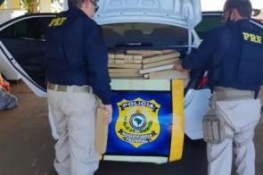 traficante é preso com 603 quilos de maconha que levaria a Minas Gerais
