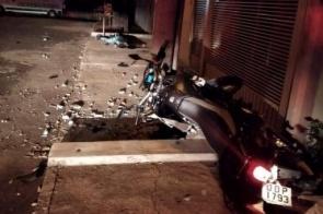 Jovem morto em acidente na madrugada deste domingo em Itaporã tentava fugir da polícia