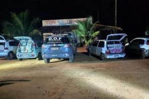 DOF intercepta comboio de contrabandistas na fronteira