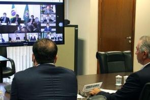 Reinaldo cobra socorro imediato a estados e municípios em videoconferência com o presidente Bolsonaro