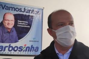 Moradores do Jequitibás pedem apoio de Barbosinha por asfalto