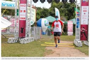 Inédita no país, corrida recebe primeiros participantes, sem aglomeração