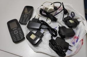 """""""Combo"""" com celulares, maconha e carregadores é apreendido na PED"""