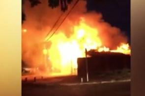 Após fazer ameaças, homem coloca fogo na casa da ex-namorada