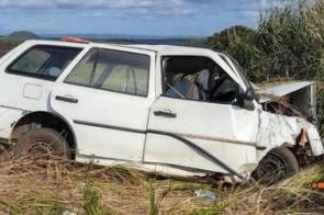 Identificadas vítimas de acidente que matou três pessoas na MS-162