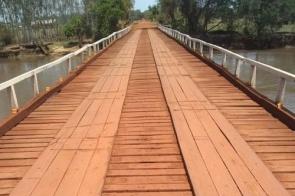 Governo lança licitação para ponte de concreto sobre o Rio Dourados