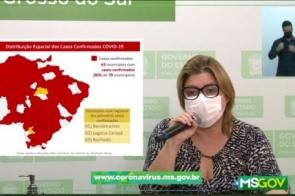 Mais três entram no mapa e coronavírus chega em 80% das cidades de MS