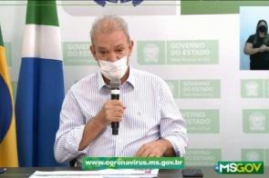 Ao vivo, secretário anuncia mais 2 mortes por covid e MS chega a 47 óbitos