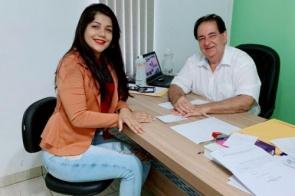 Daniele Moura de Araujo é pré-candidata a vereadora no grupo de Marcos Pacco