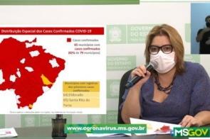 Mais dois municípios de MS confirmam casos de coronavírus