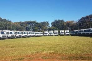 Em parceria com governo, Geraldo entrega 32 caminhões para agricultura familiar