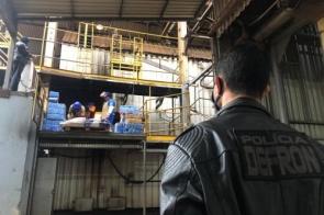 Delegacia incinera mais de 28 t de drogas em Dourados