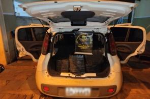 Polícia prende dois e localiza mais de 400 kg de maconha em Uno