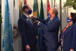 Itaporanense Edilson Bigatão é empossado novo Governador do Rotary Club distrito 4470