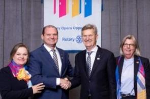 Confira a cerimônia virtual de transmissão de cargo do Rotary