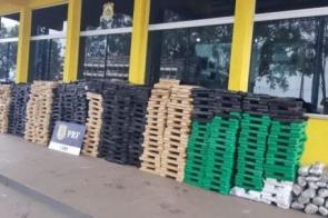 'Mudança' saiu de Campo Grande com 1,2 tonelada de maconha avaliada em R$ 12,5 milhões