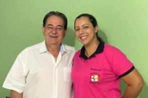 Regiane Pecini é pré-candidata a vereadora pelo DEM em Itaporã