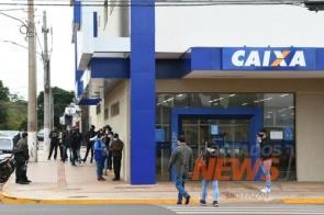 Agência da CEF em Dourados tem quatro casos positivos de coronavírus em uma semana