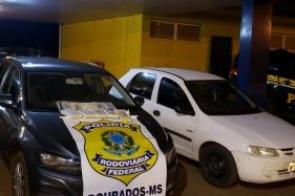 Dupla é presa em MS transportando cocaína para o Rio Grande do Sul