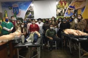 Itaporã: Gerência de Saúde oferece curso de capacitação aos profissionais da linha de frente do Covid-19